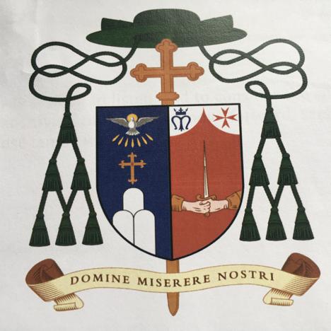 Bishop Carmel Zammit Coat of Arms